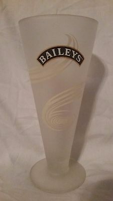Baileys Irish Cream Frosted Footed Cocktail Glass