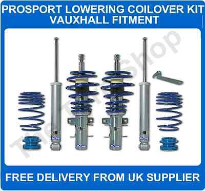 Vauxhall Corsa C 00-06 1.4i 1.3CDTi 1.7CDTi ProSport CoilOver Suspension Kit