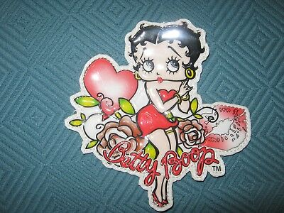 Cute Big Betty Boop Sew On Decal Patch New
