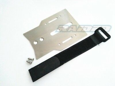 Traxxas TRX-4 TRX4 D90 Trail Crawler Stainless Steel Space Extend Mount Plate