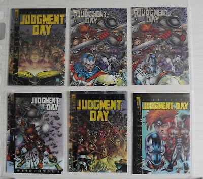 Judgment Day Comic Images - 1997 ULTRA RARE CLEAR COVERS SET