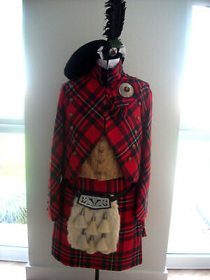 1820's theatrical Highland gentlemans outfit