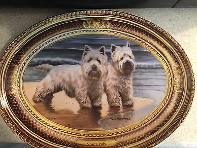 Franklin Mint Heirloom Collection Plate - Shore Pals