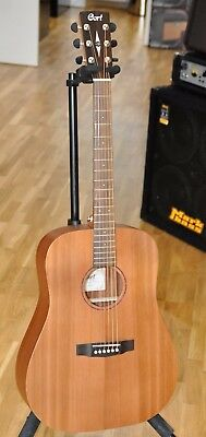 Cort Earth Grand OP Cedar LH Dreadnought Acoustic Guitar Left Handed - New!