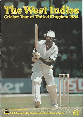 WEST INDIES CRICKET TOUR OF UNITED KINGDOM ENGLAND - 1984... Padwick II 2833