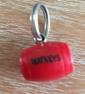 Vintage Watneys Red Barrel Key ring