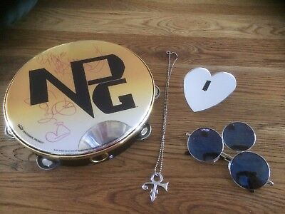 Signed New Power Generation Tambourine