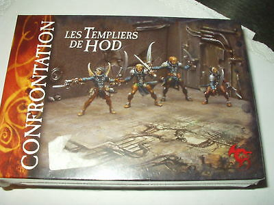 Confrontation-Box-Les Templiers De Hod-Sealed-Rackham-Templars Of-Templari Di