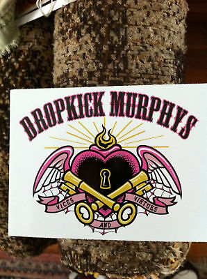 Dropkick Murphys Heart with wings sticker out of print