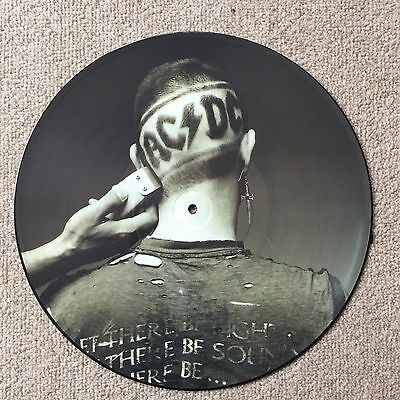 """AC/DC 12"""" Razors Edge PICTURE DISC RARE MINT NEVER PLAYED"""