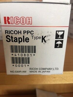 RICOH PPC Staple Type K Cartridge 410801 530R-AM - New