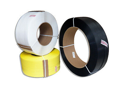 Plastic Strapping 38M.25.3112 Polypropylene Coil,12900 ft