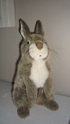 Belle Peluche KOZEN LAPIN hyperrealiste Rabbit stuffed animal New collectible