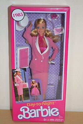 2017 Vintage Reproduction 1984 DAY TO NIGHT Barbie Brand New Release