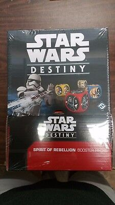 Star Wars Destiny TCG Spirit of Rebellion (Fantasy Flight 2016) Sealed BOX (36)