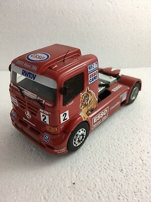 Fly GB Track Super Truck Mercedes-Benz Atego Esso/WFZ/Speedline 1/32 Slot Car