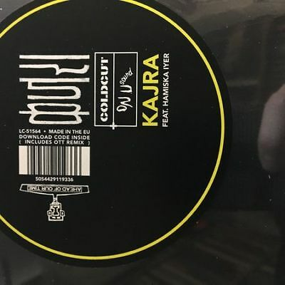 """10"""": Coldcut X On-U Sound Feat. Hamsika Iyer - Kajra - Ahead Of Our Time - AHED1"""
