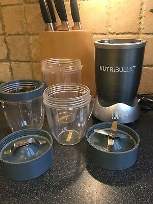 Nutribullet Magic Bullet blender - soups, shakes, smoothies and loads more!