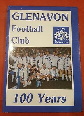 Glenavon Football Club  100 years  - (1989)  - Malcolm Brodie  ** Hard back **