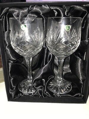 Burns Crystal Hand Crafted Glasses