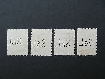LATVIA, LETTLAND,The PERFINS - S&L is knownfrom the period 1930 to 1937. RARE