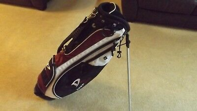 Wilson Deep Red Stand Bag