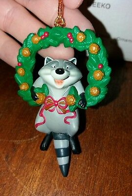 Grolier Christmas Tree Hanging Disney Decoration Ornament Meeko