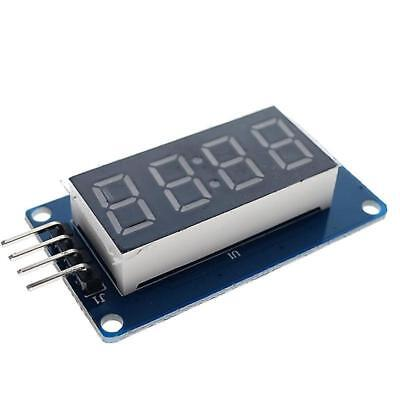 Raspberry Pi Arduino 4 Digit 7 Seven Segment Tube LED Display Module TM1637