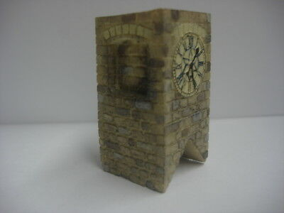 Model Railway Resin Clock Tower - 00 Gauge Linka Compatible