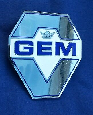 Gem Guild Of Experienced Motorists Car Grille Badge By Fattorini
