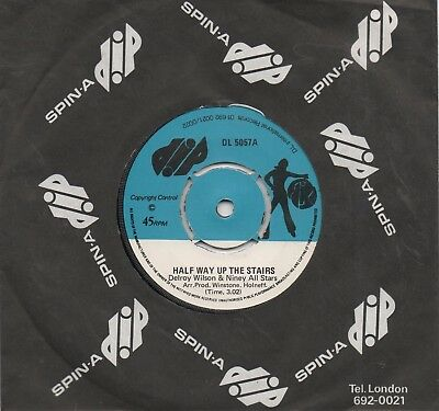 Delroy Wilson & Niney All Stars-Half Way Up The Stairs-Dip-***nice Copy***
