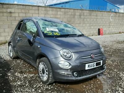 Breaking Fiat 500 facelift repairs spares 2016 2017 bumper airbags front end