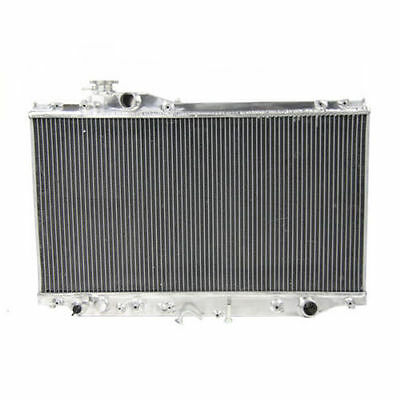 3 Row Aluminium Radiator For Toyota Supra JZA80 2JZ-GTE Turbo AT/MT 1993-1998 94