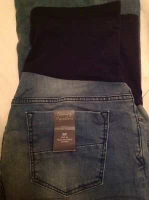 Mothercare Maternity Jeans Size 18 New