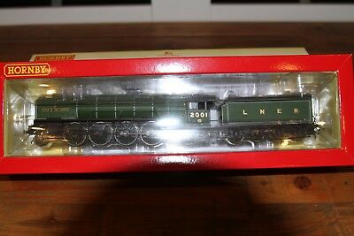 Hornby R3207 Lner P2 2-8-2 Number 2001 Cock O' The North New Dcc Ready