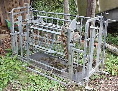 Sheep Turnover Crate by Ironwork (Devon) VGC
