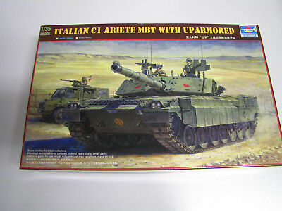 1:35 Trumpeter 00394 Italian C1 Ariete MBT With Up Armor
