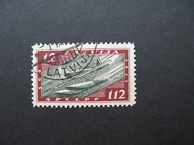 1933 Airmail Planes Zeppelin, Latvia, Lettland, Latvian stamps, Mi. - 229  used