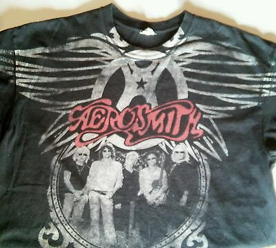 Aerosmith XL World Tour 2009 Official Concert Shirt