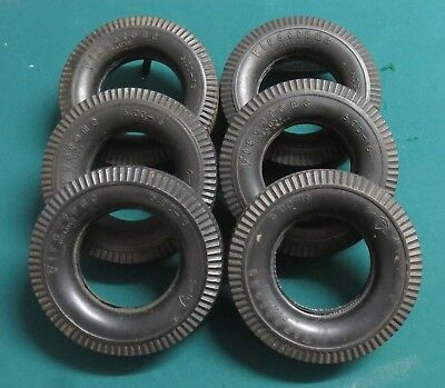 'Ashtray' tyres for use on  large Meccano models