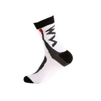 Mountain Bike Socks High Quality Breathable Bicycle Cycling Socks Cool White