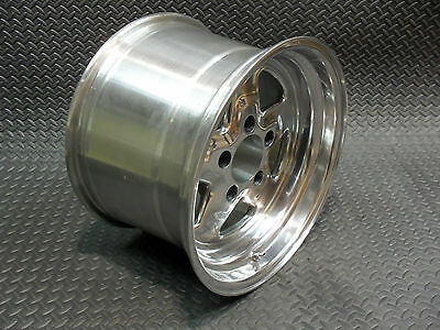 #521-5162P ULTRA FAST FIVE ALUMINUM POLISHED WHEEL 15X10 5 X 4.75 BOLT w/5.50 BS