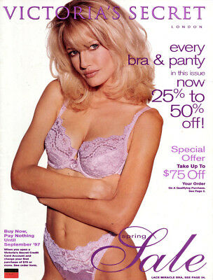 1997 Victoria's Secret Spring Sale->Karen Mulder cover