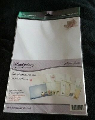 Hunkydory For All Luxury Card Inserts For A5 Cards