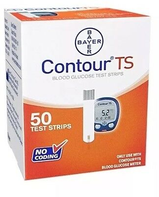 Bayer Contour TS Blood Glucose Test Strips New Sealed /  Exp: 12-2018
