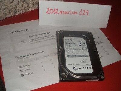 "Disco Duro 250 Gb Interno 3.5"" Sata2 7200Rpm  (Seagate St3250318As). Ok"