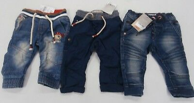 3 x Next Baby Boy Jeans / Trousers 6-9 Months New with Tags - Total £39.00