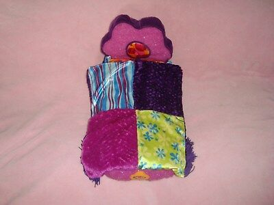 "Groovy Girls Bedroom Furniture Plush BED dated 2001 Manhattan Toy 14"" long"