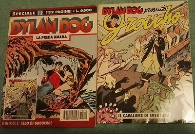 DYLAN DOG SPECIALE N. 12 - Con Albetto di GROUCHO in allegato - 1998
