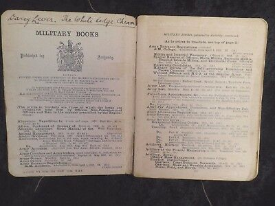 British Army Infantry Training Manual 1914 Weapons Tactics History ISSUED guards